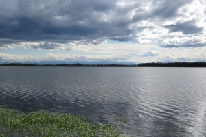 Lakeside campground in Tetlin NWR
